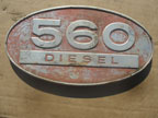 Part No.0369 International 560 Badge £30 + VAT & Carriage