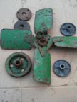 Part No. 2243 John Deere B fan assembly complete £100 + VAT & Carriage