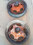 Part No.2140 Allis Chalmers WK front wheels £200 pair + VAT & Carriage