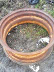 Part No.2177 International W6 rear wheel rim £150 + VAT & Carriage