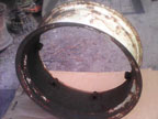 "Part No. 3924 28"" wheel rim £50 + VAT & Carriage"