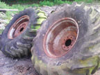 "Part No. 3926 18.4x26"" wheels and tyres £250 + VAT & Carriage"