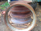 "Part No. 4069 John Deere A 38"" wheel rims £175 per rim + VAT & Carriage"