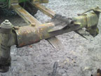 Part No. 3623 David Brown 1200 front axle complete £180 + VAT & Carriage