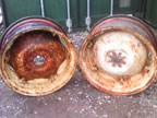 Part No. 4424 International 14x28 pair wheels £160 + VAT & Carriage