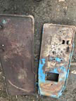 Part No. 4550 Ford 4000 foot plates