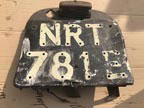 Part No. 4493 International 434 Number plate assy £60 + VAT & Carriage