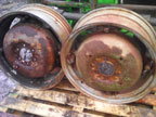 Part No. 4329 Leyland 154/Nuffield 950 rear wheels £300 + VAT & Carriage
