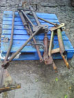 Part No. 4326 Ferguson T20 loader Brackets with tap £250 + VAT & Carriage