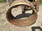 Part No. 4515 John Deere, Case, Massey Harris 12x26 rim £120 + VAT & Carriage