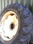 "Part No. 1906 International 955 and other models 38"" rear wheels,tyres 25% £350 + VAT & Carriage"