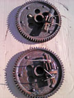 Part No. 3412 International 275,44,434 final drive gears £180 + VAT the pair  & Carriage