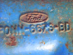 Part No. 3482 Ford 6 cylinder sump (Casting No.) £120 + VAT & Carriage