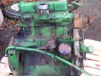 Part No. 3523 John Deere 3 cyl engine, type 3-179DL non runner