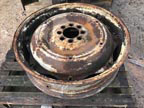 "Part No. 4999 Ford 36"" Wheel £180 + VAT & Carriage"