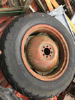 "Part No. 5000 28"" Wheels with Turf Tyres £350 + VAT & Carriage"