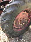 Part No. 5126 David Brown 25D/30D wheel and 90% tyre £200 + VAT & Carriage