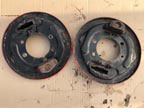 Part No. 4861 Nuffield 3 cyl brake backs £80 + VAT & Carriage