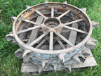 Part No. 5181 John Deere BR/BO rear steel wheels £500 + VAT & Carriage