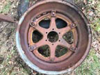 "Part No. 5198 John Deere BO/BR 26"" rear wheels £350 + VAT & Carriage"