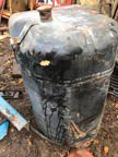 Part No. 5504 Ford TW series diesel tank £180 + VAT & Carriage