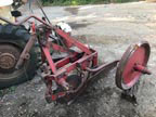 Part No. 5425 David brown single furrow plough all complete £500 no vat & Carriage